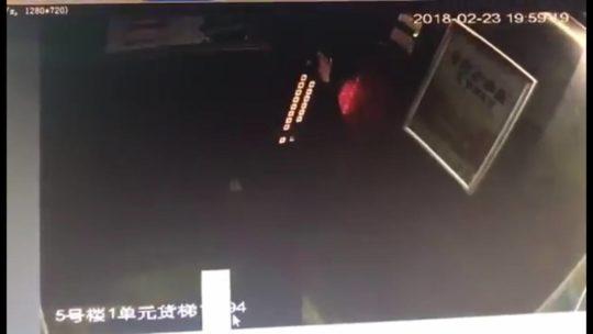 【アホ過ぎ】エレベーターのボタンに小便ブッカケた中国の少年、ボタンバグって閉じ込められるwwwwwwww(画像、GIFあり)・3枚目