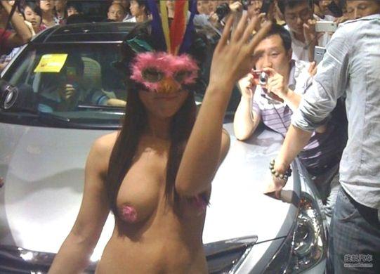 (透け過ぎ)中国のモーターショー、もはやストリップ劇場になってて草wwwwwwwwwwwwwwww(写真30枚)