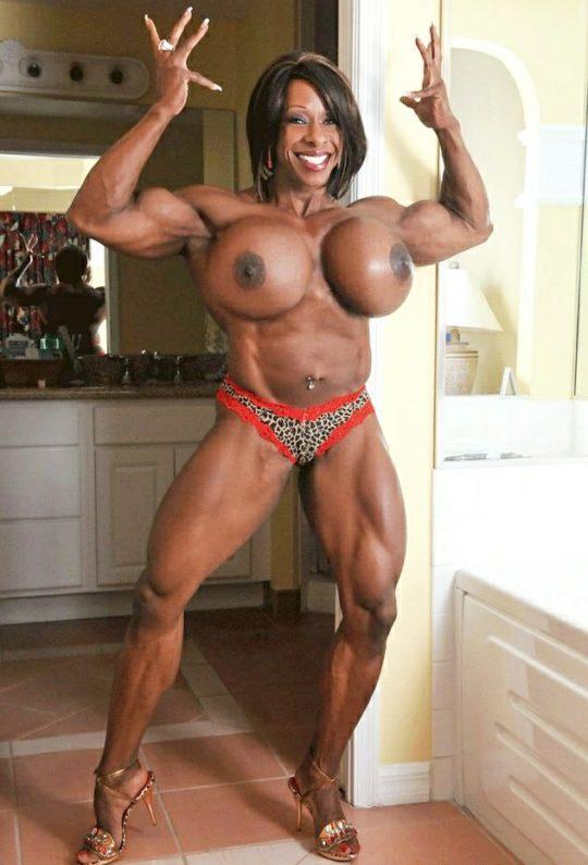 【マニア保存推奨】筋肉MAXの黒人アスリートネキ、ほぼ刃牙のキャラばかりでワロタwwwwwwwww(画像あり)・8枚目