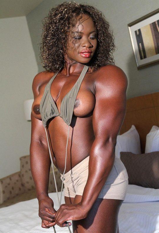 【マニア保存推奨】筋肉MAXの黒人アスリートネキ、ほぼ刃牙のキャラばかりでワロタwwwwwwwww(画像あり)・11枚目