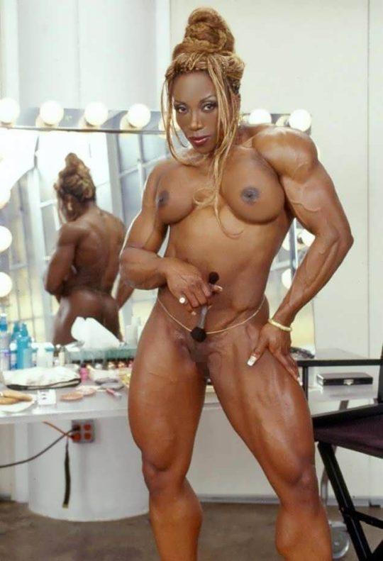 【マニア保存推奨】筋肉MAXの黒人アスリートネキ、ほぼ刃牙のキャラばかりでワロタwwwwwwwww(画像あり)・12枚目