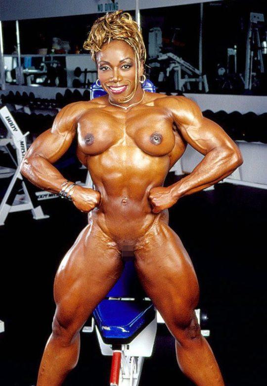 【マニア保存推奨】筋肉MAXの黒人アスリートネキ、ほぼ刃牙のキャラばかりでワロタwwwwwwwww(画像あり)・13枚目
