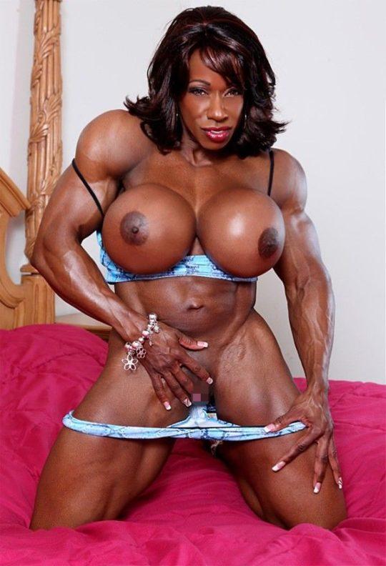 【マニア保存推奨】筋肉MAXの黒人アスリートネキ、ほぼ刃牙のキャラばかりでワロタwwwwwwwww(画像あり)・22枚目