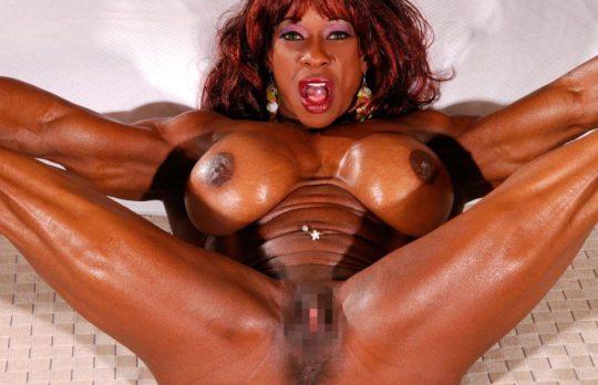【マニア保存推奨】筋肉MAXの黒人アスリートネキ、ほぼ刃牙のキャラばかりでワロタwwwwwwwww(画像あり)・25枚目