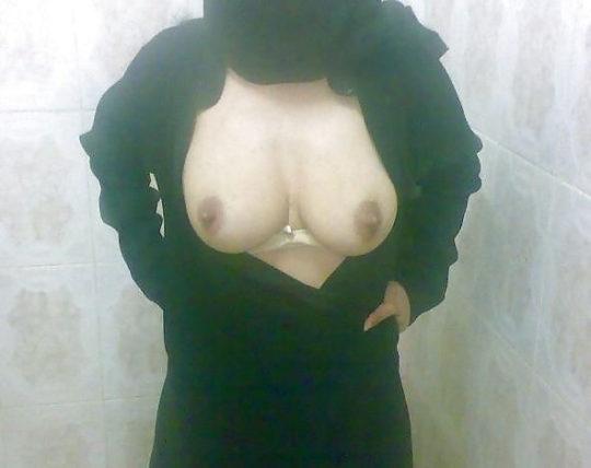 【巨乳民族】ヒジャブ着用のイスラムまんさん全員巨乳説、マジでホントっぽくて草wwwwwwww(画像30枚)・9枚目