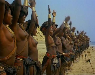 【部族おっぱい104枚】アフリカ原住民部族最強のおっぱいがコチラ、10代女子がいっぱいいるんだが・・・(画像)・68枚目