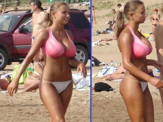 """(凄過ぎ)ロシアで発見された""""美巨乳すぎる10代小娘""""、こんなんみただけで射精不可避でワロタwwwwwwwwwwwwww(写真あり)"""