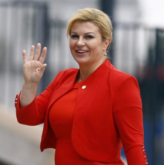 【爆乳大統領】クロアチアの大統領がエッチすぎると話題にwwwwwww(画像あり)・3枚目