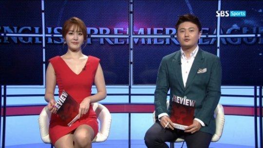 【ほぼホステス】AV禁止のお隣韓国、ニュース番組の女子アナスカートがキャバ嬢レベルでワロタwwwwwww(画像あり)・3枚目