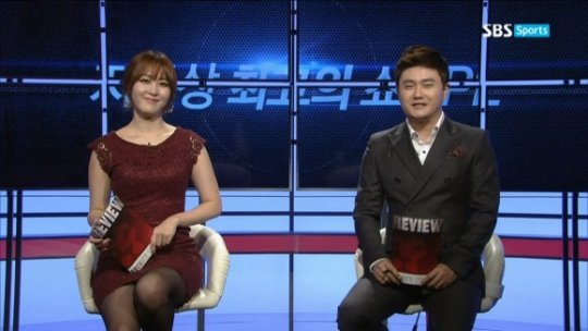 【ほぼホステス】AV禁止のお隣韓国、ニュース番組の女子アナスカートがキャバ嬢レベルでワロタwwwwwww(画像あり)・7枚目