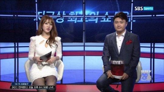 【ほぼホステス】AV禁止のお隣韓国、ニュース番組の女子アナスカートがキャバ嬢レベルでワロタwwwwwww(画像あり)・8枚目
