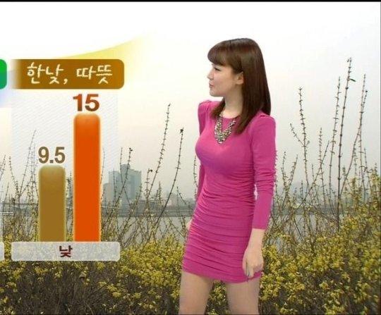 【イメクラ嬢レベル】韓国女子アナの平均的なスカートの短さ、これもう普通に痴女だろwwwwwwwww(画像30枚)・15枚目
