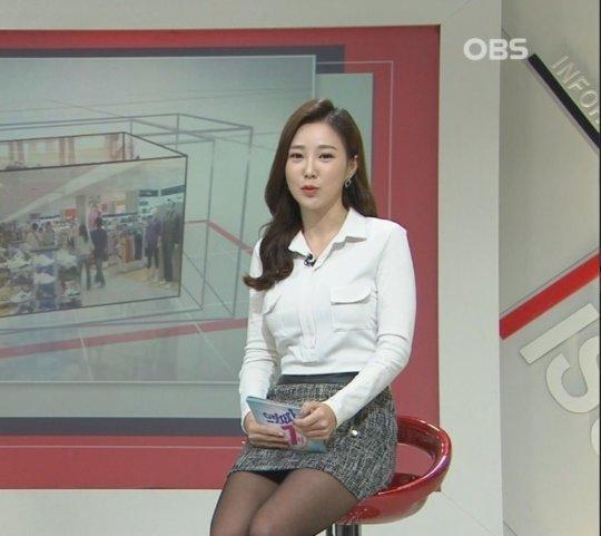 【イメクラ嬢レベル】韓国女子アナの平均的なスカートの短さ、これもう普通に痴女だろwwwwwwwww(画像30枚)・18枚目