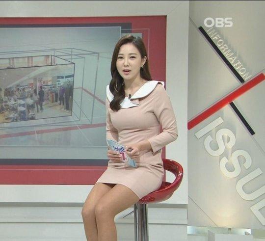 【イメクラ嬢レベル】韓国女子アナの平均的なスカートの短さ、これもう普通に痴女だろwwwwwwwww(画像30枚)・20枚目
