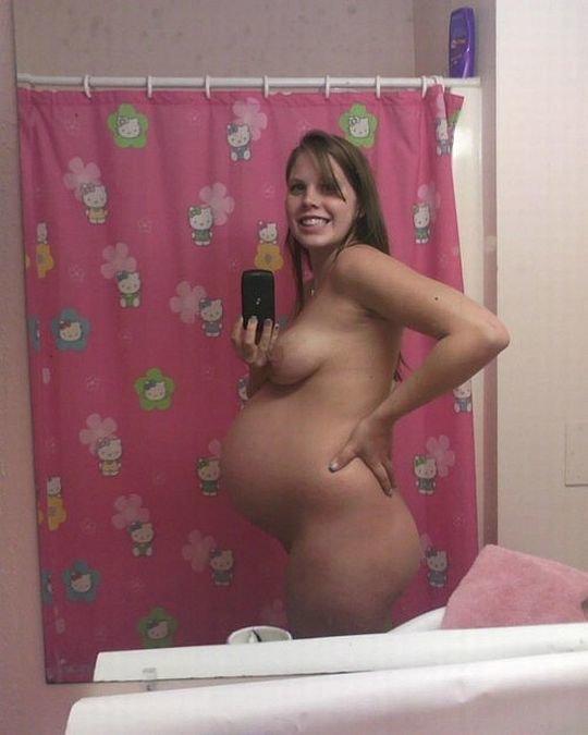 【妊婦ヌード】アメリカの妊婦さん、何故か妊娠記録の為にヌードを撮ってSNSにUPしてしまうwwwwwww(画像あり)・7枚目