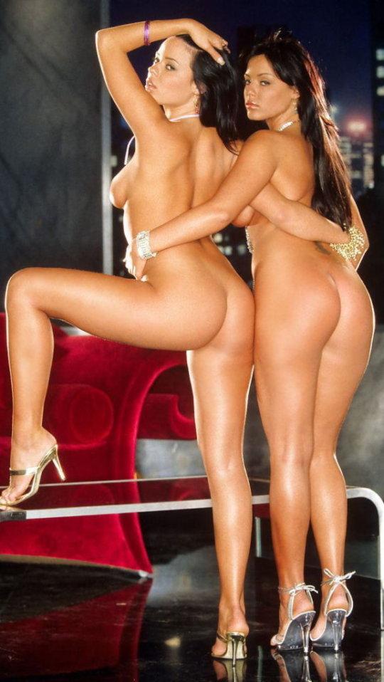 【双子ヌード】海外の双子ネキ、楽に稼ぐ為に高確率で姉妹ヌードになるという現実・・・・・(画像30枚)・8枚目