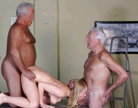 【歳の差セックス】大国アメリカの真の勝ち組の様子、こいつ等普通に逮捕されるだろ・・・・・(画像30枚)・14枚目