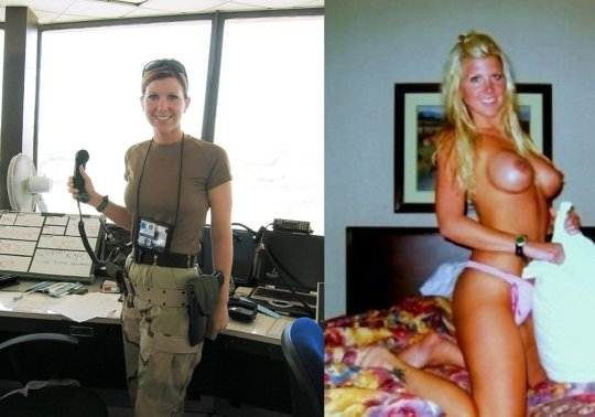 【兵士ヌード】ストレス溜まりまくる女性兵士の着衣ヌード比較画像、案外だらしない身体してて草wwwwwwwwww(画像30枚)・11枚目