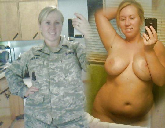 【兵士ヌード】ストレス溜まりまくる女性兵士の着衣ヌード比較画像、案外だらしない身体してて草wwwwwwwwww(画像30枚)・26枚目