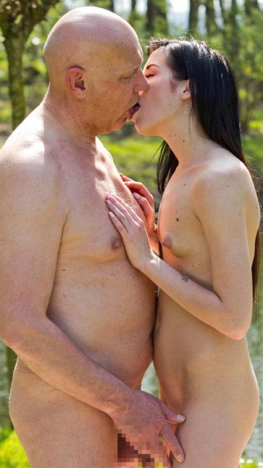 【セックス画像】ドン引きする年の差男女のセックス風景。ちょっとヤバいわ・・・(画像あり)・111枚目