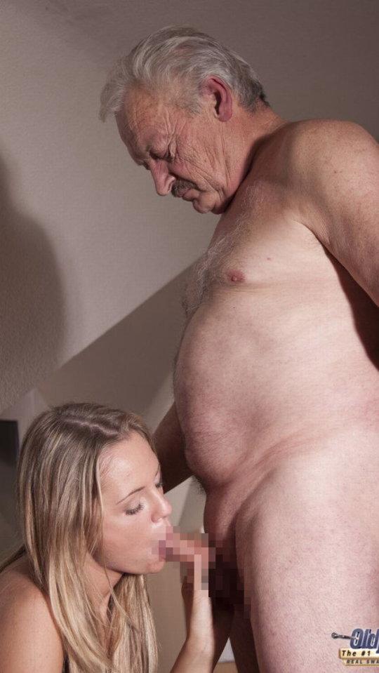 【セックス画像】ドン引きする年の差男女のセックス風景。ちょっとヤバいわ・・・(画像あり)・127枚目