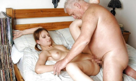 【セックス画像】ドン引きする年の差男女のセックス風景。ちょっとヤバいわ・・・(画像あり)・129枚目