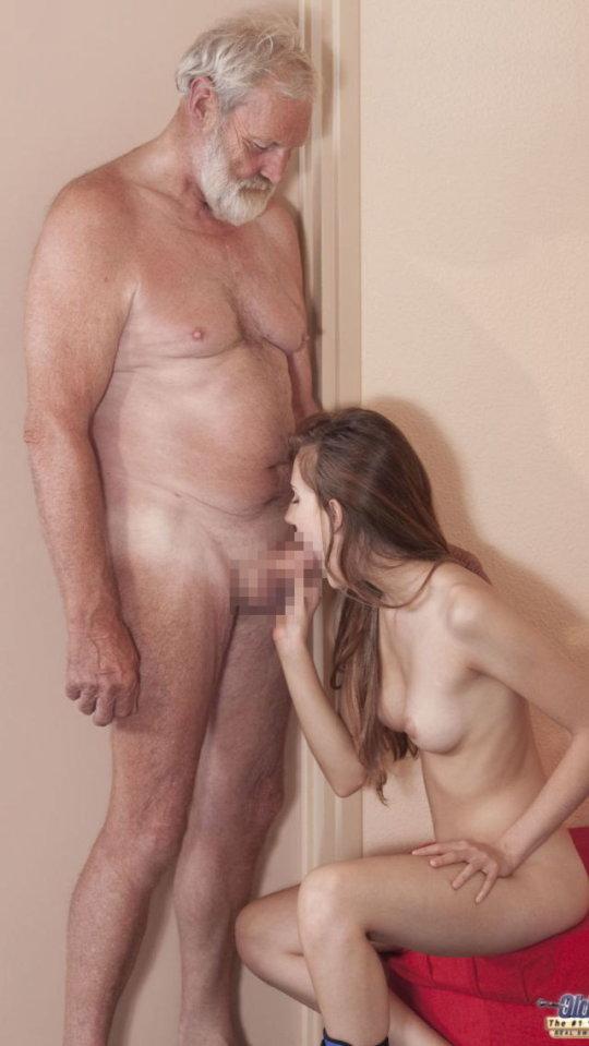 【セックス画像】ドン引きする年の差男女のセックス風景。ちょっとヤバいわ・・・(画像あり)・145枚目