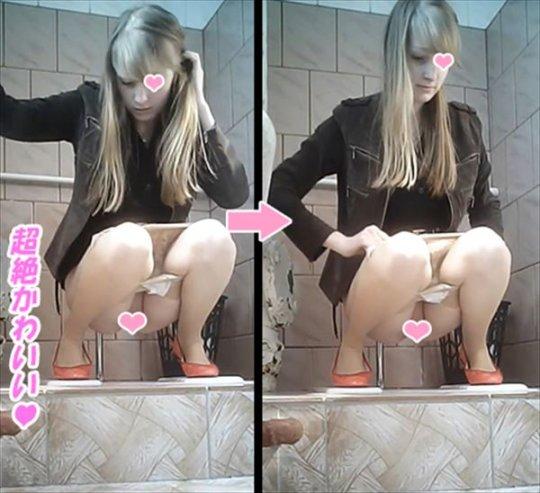 【トイレ盗撮】中国人女子がトイレ中に盗撮カメラと目が合うwwwwwwww(画像あり)・37枚目