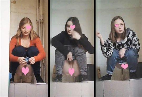【トイレ盗撮】中国人女子がトイレ中に盗撮カメラと目が合うwwwwwwww(画像あり)・43枚目