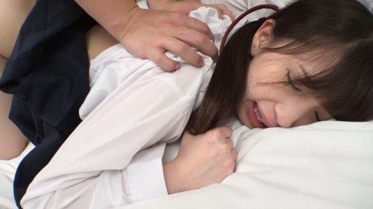 【鬼畜】人生初の援○でイラマ・首絞め・中出し された女の子をご覧ください。。(動画)・46枚目