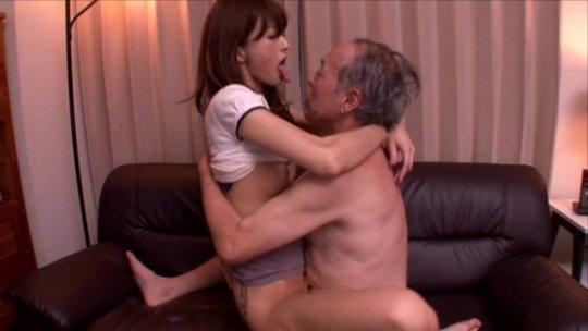 【セックス画像】ドン引きする年の差男女のセックス風景。ちょっとヤバいわ・・・(画像あり)・105枚目