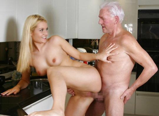 【セックス画像】ドン引きする年の差男女のセックス風景。ちょっとヤバいわ・・・(画像あり)・1枚目
