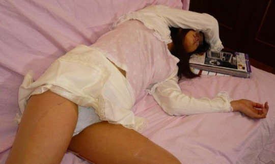 """【人妻エロ】家庭内なのに""""妻""""の卑猥な姿を隠し撮りする夫が晒した画像wwwwww(148枚)・109枚目"""