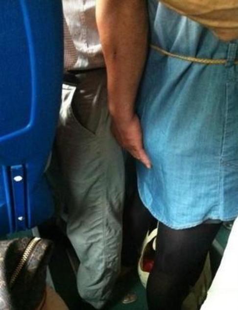 【痴漢エロ】電車で被害に遭った女の子たちをご覧ください・・・(画像あり)・97枚目