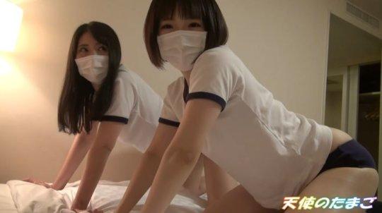 【エロ動画】2人の女子学生、まとめてハメ撮りする猛者が動画を販売するwwwww・11枚目