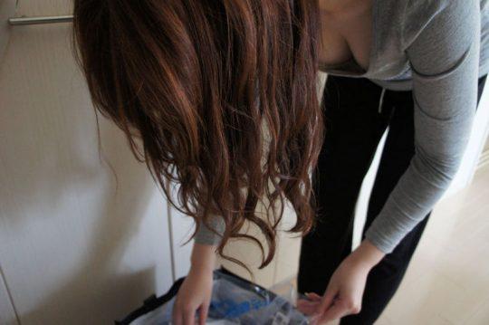 """【おっぱい画像】盗撮された完璧すぎる""""巨乳""""が勃起不可避すぎた…(167枚)・115枚目"""