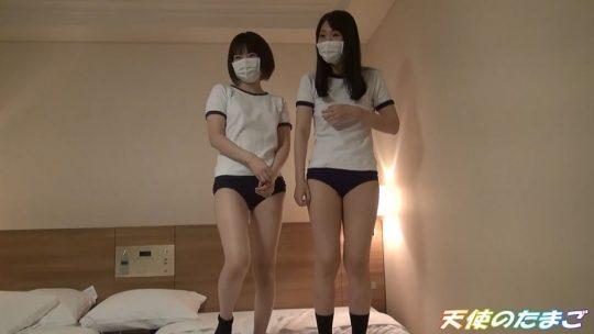 【個人撮影】お小遣い貰った女子高生2人が文句言いながらも唾液混ぜ混ぜフェラチオ&乱交セックス!!・8枚目